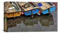 Crail boats, Canvas Print
