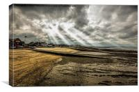 Wow whitstable, Canvas Print