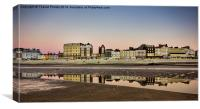 Margate by the sea, Canvas Print