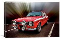 RS2000 Mexico, Canvas Print