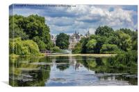 St James park (2), Canvas Print