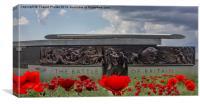 Battle of Britain Monument, London, Canvas Print