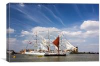 tall ships festival , Canvas Print