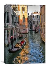 Gondola , Canvas Print