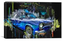 Ford Escort , Canvas Print