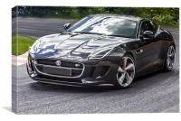 Jaguar F TYPE R AWD COUPE, Canvas Print