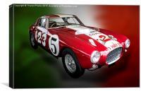 Ferrari 250 MM Berlinetta, Canvas Print