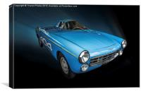 Peugeot 404 Diesel Record 1965, Canvas Print