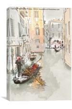 Gondola, Canvas Print
