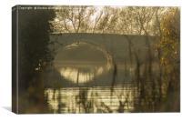 Thames Mist, Canvas Print