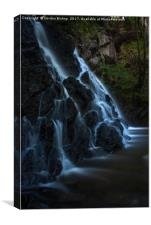 Fairy Glen Falls, Canvas Print