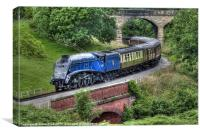 60007 Sir Nigel Gresley, Canvas Print