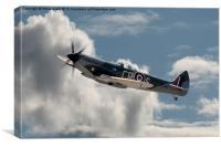 Supermarine Spitfire Mk XVI, Canvas Print