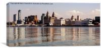 Liverpool's Skyline, Canvas Print