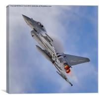 Eurofighter Typhoon (D-Day Stripes), Canvas Print