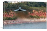 Eurofighter Typhoon - Fast and Low, Canvas Print