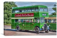 Bristol Tramways and Carriage Company, Canvas Print