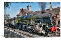 LMS Royal Scot, Canvas Print