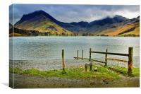 Fleetwith Pike on Buttermere, Canvas Print