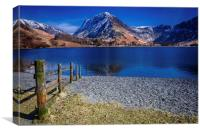 Fleetwith on Buttermere, Canvas Print