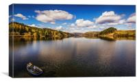 Lake Vyrnwy Nature Reserve, Canvas Print