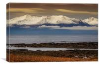 Across the Sea to  Arran, Canvas Print