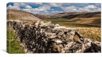 Kingsdale, North Yorkshire, Canvas Print