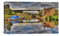 Leeds Liverpool Canal, Canvas Print