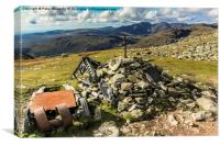 Great Carrs and Scafell, Canvas Print