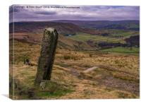 Withens Gate, Pennine Way, Canvas Print