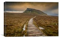 Pen-Y-Ghent from Dale Head , Canvas Print