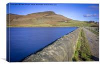 Embsay Reservoir, Canvas Print