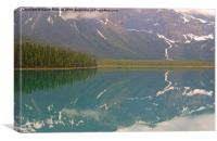 Emerald Lake, Canada, Canvas Print
