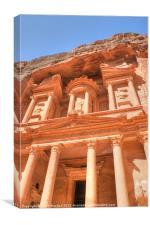 The Treasury at Petra, Canvas Print