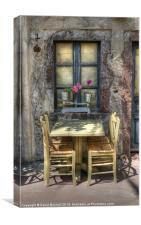 Your Table Awaits, Canvas Print