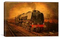 Steams Glorious Past, Canvas Print