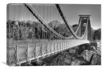 Clifton Suspension Bridge, Bristol, Canvas Print