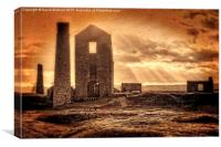 Haunted Britain - Magpie Mine, Canvas Print