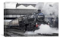 Loughborough Departure, Canvas Print