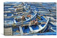 Essaouira Blue Fishing Boats