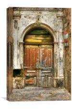Mysterious Medina Doorway, Canvas Print