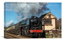 70013 at Quorn and Woodhouse, Canvas Print