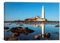 Reflections of the Lighthouse, Canvas Print