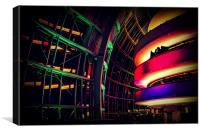 Party at The Sage, Canvas Print