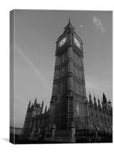 Big Ben, London, Canvas Print