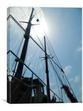 Boat Trip to Blue Lagoon, Malta, Canvas Print