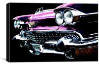 Pink Cadillac, Canvas Print