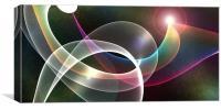 Light Wave, Canvas Print