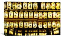 Japanese temple, Canvas Print