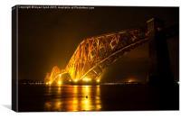 Forth Rail Bridge, Canvas Print